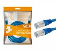 CABO REDE CAT6 2M CHIPSCE AZUL - 018-1087