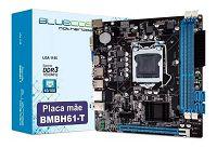 PLACA MÃE BLUECASE BULK BMBH61-T DDR3 1155@