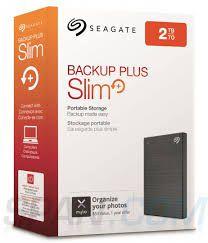 HD EXTERNO 2.5 2TB SEAGATE BACKUP PLUS SLIM STHN2000400@