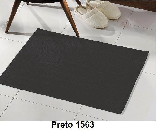 Toalha para piso Felpudo Royal PRETO