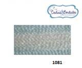 Linha POLYCRON mesclada para bordar 100% Viscose cones de 3 mil metros COR 1081
