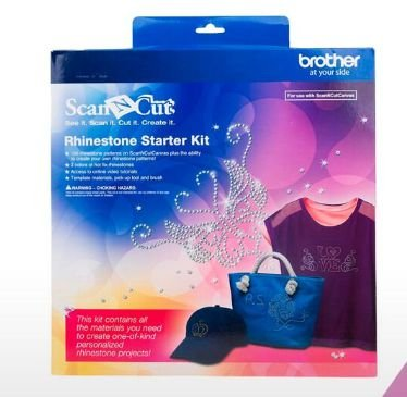 KIT PARA PERSONALIZAÇÃO COM PEDRARIA ( STRASS) ORIGINAL BROTHER