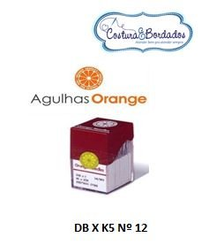Agulha Orange DB X K5 MULT. CABEÇA Nº 12