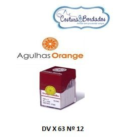 Agulha Orange DV X 63 GALONEIRA Nº 12