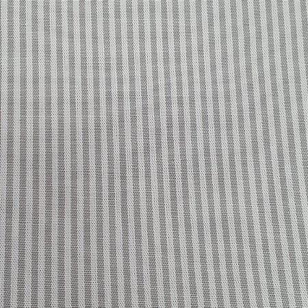 TRICOLINE LISTRAS CINZA/BRANCO 100% ALGODÃO IGARATINGA
