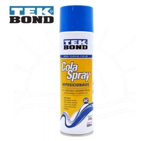 Cola Spray Tek Bond Reposicionável