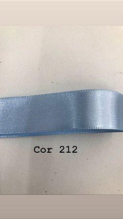 Fita de cetim Numero 2 progresso CF002 COR 212 AZUL BEBE
