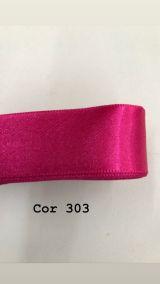Fita de cetim Numero 1 progresso CF001 COR 303 PINK