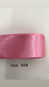 Fita de cetim Numero 0 progresso (T900/000) COR 009 ROSA PÉTALA