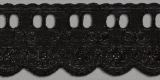 Passa Fita – PP057-050 (Novo) - Passa Fita: 65/35 largura 5 cm Cor Preto