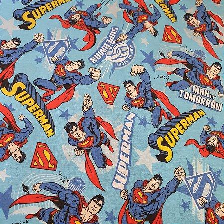TRICOLINE SUPERMAN 100% ALGODÃO 23316