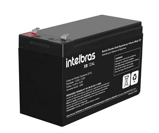 Bateria de Chumbo-ácido (VRLA) 12V 7A XB 12SEG Intelbras
