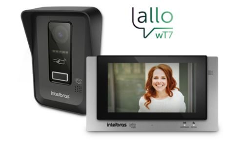 Videoporteiro Wi-Fi Intelbras Allo wT7