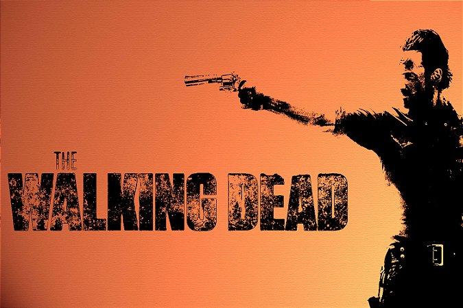 Quadro The Walking Dead - Artístico 6