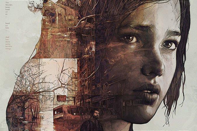 Quadro The last of us - Ellie Artístico