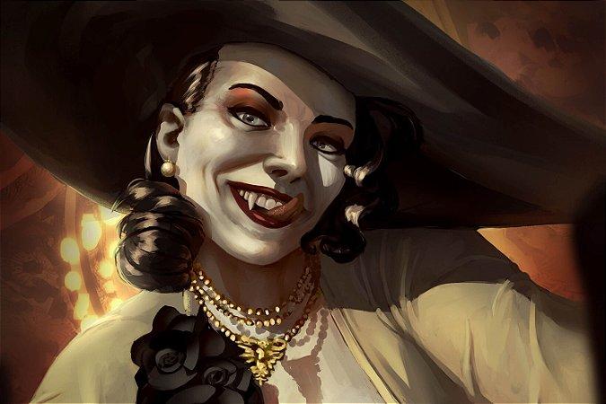 Quadro Resident Evil Village - Lady Dimitrescu 5