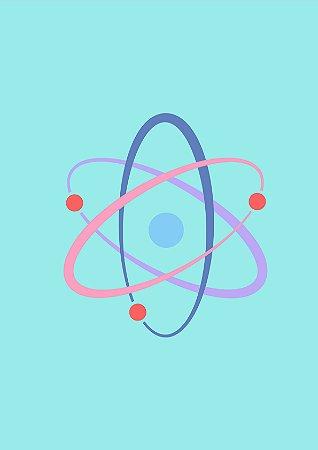 Quadro Minimalista H.E - The Big Bang Theory