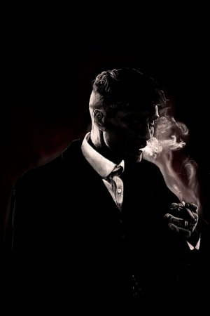 Quadro Peaky Blinders - Thomas Shelby Sombra