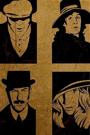 Quadro Peaky Blinders - Personagens Artístico 2