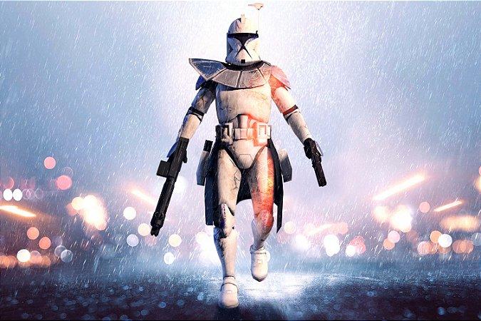 Quadro Star Wars - Stormtrooper Battlefield