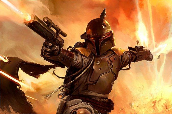 Quadro Star Wars - Boba Fett 2