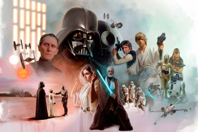 Quadro Star Wars - Artístico 4