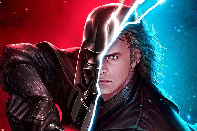 Quadro Star Wars - Darth Vader Artístico 3