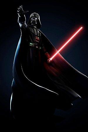Quadro Star Wars - Darth Vader Black 2