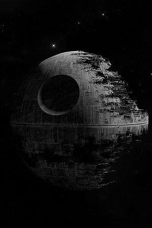 Quadro Star Wars - Estrela da Morte 2
