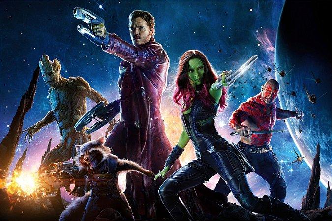 Quadro Guardiões da Galáxia - Heróis