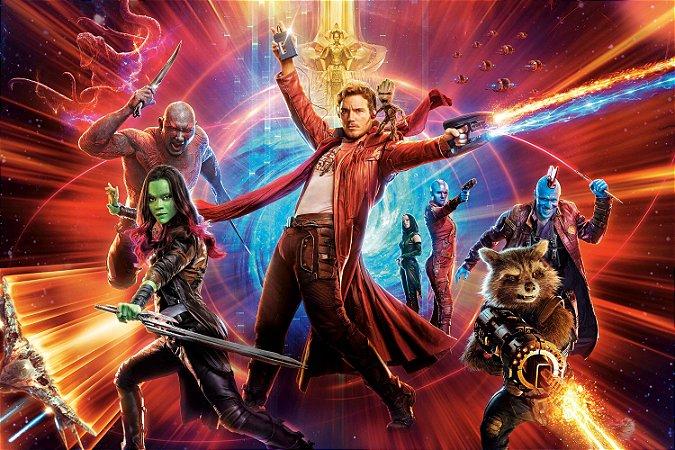 Quadro Guardiões da Galáxia - Heróis 2