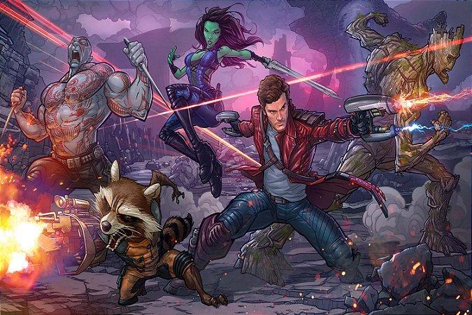 Quadro Guardiões da Galáxia - HQ 2