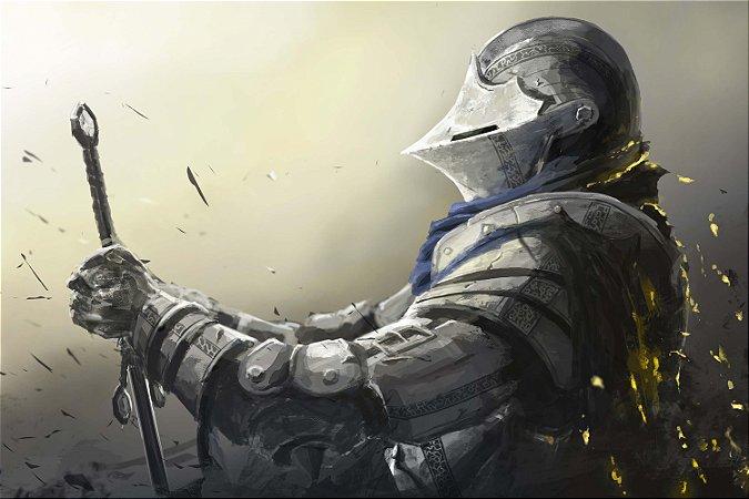Quadro Gamer Dark Souls - Guerreiro 2