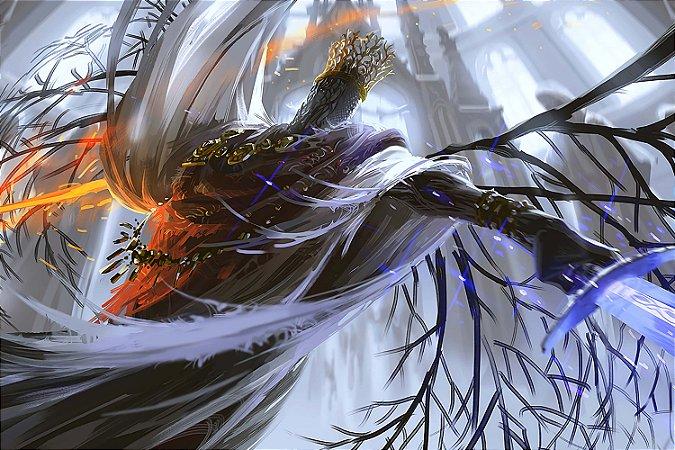 Quadro Gamer Dark Souls - Boss Artístico 2