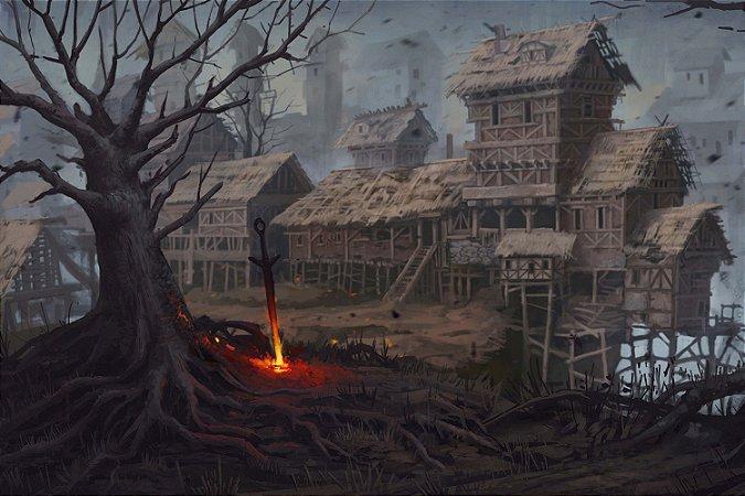 Quadro Gamer Dark Souls - Artístico 4