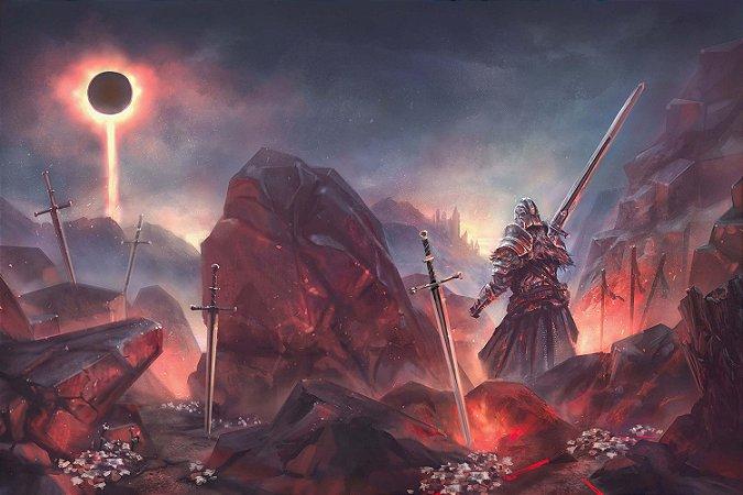 Quadro Gamer Dark Souls - Artístico 7