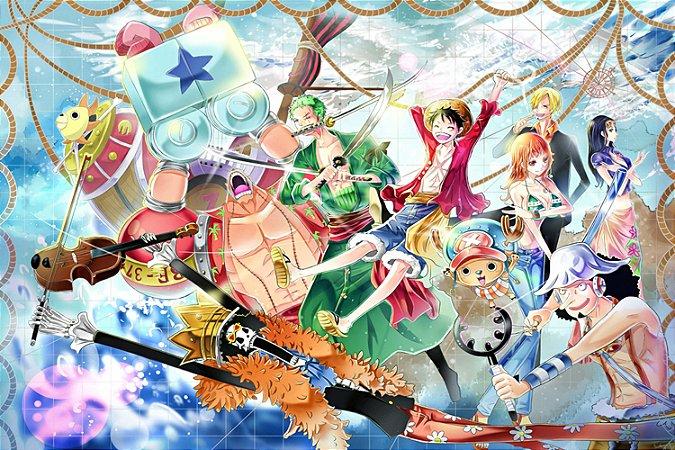 Quadro One Piece - Os Chapéus de Palha 5