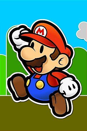 Quadro Gamer Mario - Desenho