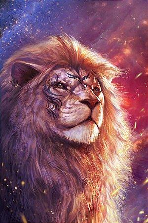 Quadro Leão - Eterno 2