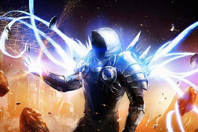 Quadro Gamer Diablo - Tyrael