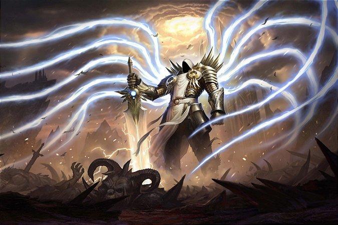 Quadro Gamer Diablo - Tyrael 3