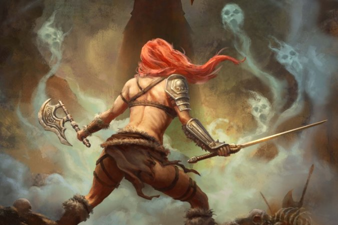 Quadro Gamer Diablo - Bárbara 2
