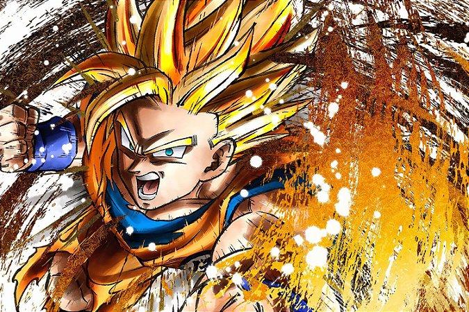 Quadro Dragon Ball - Goku Super Saiyajin 2