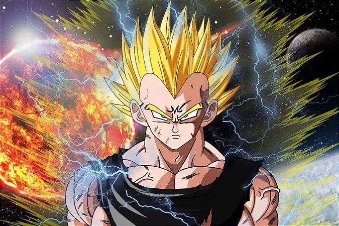 Quadro Dragon Ball - Majin Vegeta 2