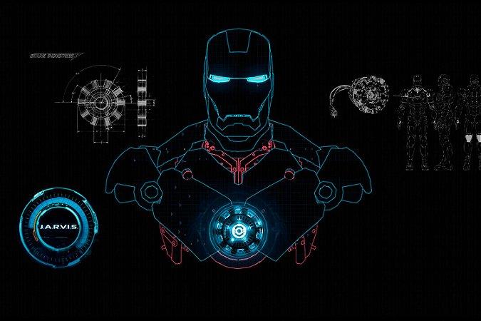 Quadro Homem de Ferro - Jarvas