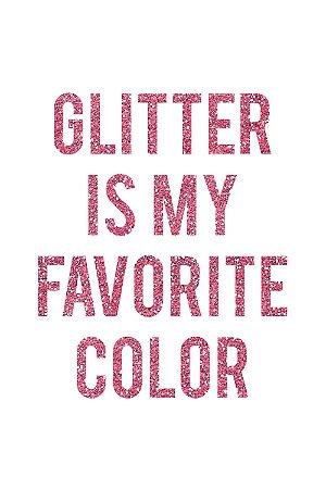 Quadro com Frase - Glitter