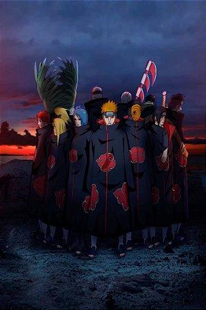 Quadro Naruto - Akatsuki 2