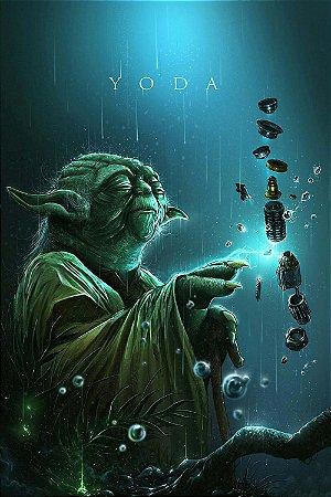 Quadro Star Wars - Mestre Yoda