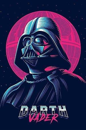 Quadro Star Wars - Darth Vader Cyber