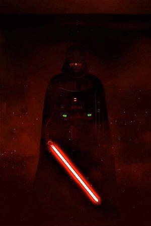 Quadro Star Wars - Darth Vader Red